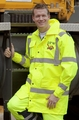 Game Sportswear The Hi-Vis Rain Jacket