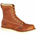 "Thorogood 8"" Waterproof Plain Toe Composite Safety Toe Boot"