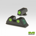 TRU-DOT NIGHT SIGHTS FOR GLOCK 9MM, .357 SIG, .40 S&W & .45 GAP