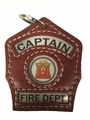 Truck Captain Key Chain Shield