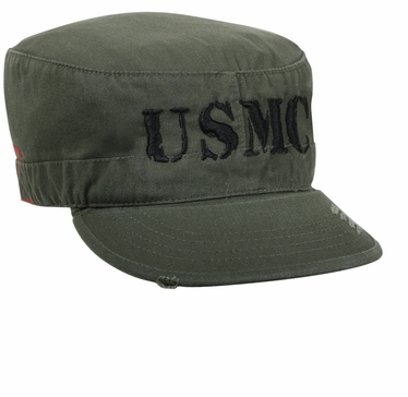U.S.M.C. Vintage Military Fatigue Hat