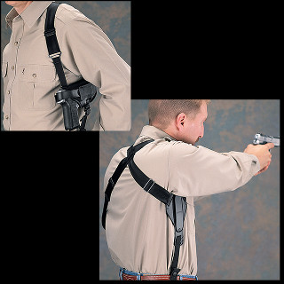 Uncle Mike's Sidekick Cross-Hardness Shoulder Holsters