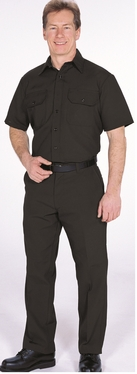 Uniform Style Shirts of Nomex - Short Sleeve (Navy Blue)