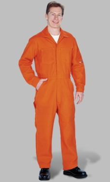 Unlined Coveralls of Nomex - 4.5 oz.