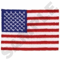 US Flag Embroidery