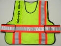 "V10 ANSI Class 2 Command Vest with High Contrast 4"" Reflective Stripes"