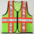 "V9 Zipper Front ANSI Class 2 Command Vest with High Contrast 4"" Reflective Stripes"