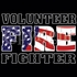 Volunteer Firefighter-Left Chest