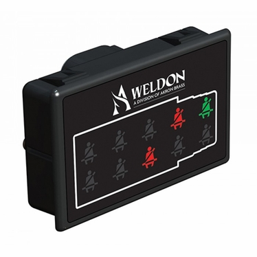 Weldon Seat Belt Indicator Ambulance with PWM Dim