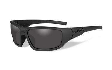 Wiley X Black Ops / Polarized Smoke Grey/Matte Black