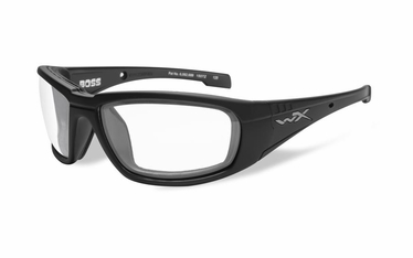 Wiley X BOSS Clear/Matte Black