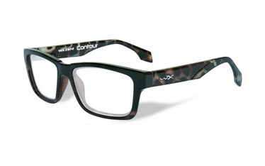 Wiley X Clear / Gloss Black Demi Frame