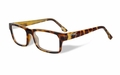 Wiley X Clear / Gloss Brown Demi Frame