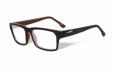 Wiley X Clear / Matte Hickory Brown Frame