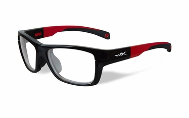 Wiley X Gloss Black / Red Frame