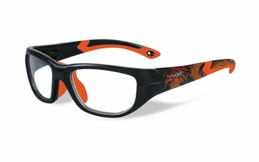 Wiley X Matte Black w/Dragon / Sonic Orange Frame