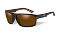 Wiley X Polarized Amber/Gloss Layered Tortoise