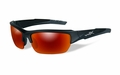 Wiley X Polarized Crimson Mirror (Smoke Grey)/Matte Black