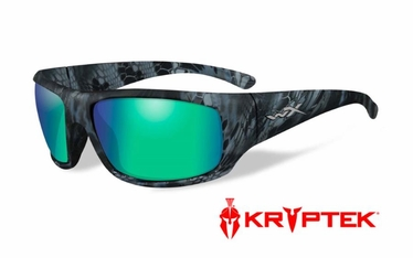 Wiley X Polarized Emerald Mirror (Amber)/ Kryptek® Neptune™