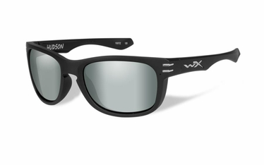 Wiley X Polarized Platinum Flash (Green)/Matte Black