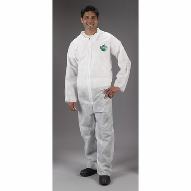 Zone Gard Coverall w/Zipper 25/Case