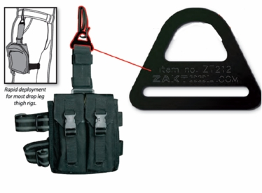 "ZT212 Buckle w/ ZT-54 Key Holder (Fits 1.75"" belt)-Combo Pack"