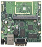 MIKROTIK RB/411AH ROUTERBOARD, 1 LAN / 1 MINI-PCI 680MHZ 64MB L4