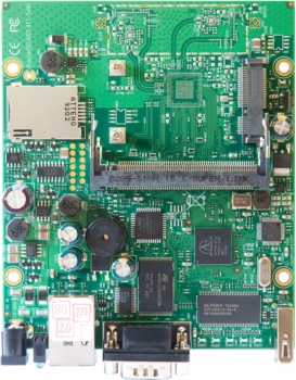 MIKROTIK RB/411U ROUTERBOARD, 1 LAN / 1 MINI-PCI / 1 PCI EXPRESS 32MB L4