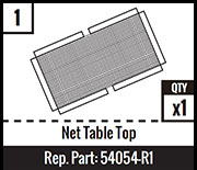 #1 - Net Table Top