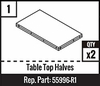 #1 - Table Top Halves
