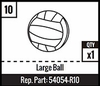 #10 - Large Ball