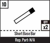 #10 - Short Base Bar
