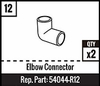 #12 - Elbow Connector