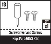 #13 - Screwdriver and Screws
