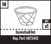 #14 - Basketball Net