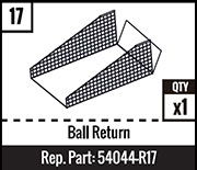 #17 - Ball Return
