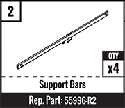 #2 - Support Bars