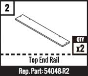 #2 - Top End Rail