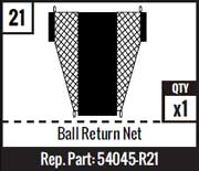 #21 - Ball Return Net