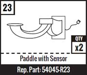 #23 - Paddle With Sensor