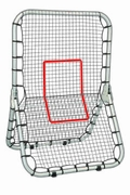 "24806 MLB Professional Multi-Sport Return Trainer 72"" X 52"""