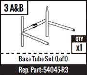 #3A&B - Base Tube Set (Left)