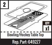 #2 - Bowling/Hockey Table Top