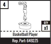 #4 - Basketball Player