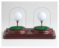 2 Holes in One Glass Dome Display-BASE ONLY