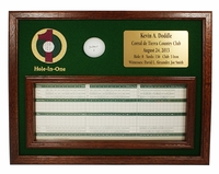 Ball and Scorecard Display - Cherry