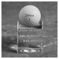 Crystal Hole in One Trophy