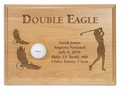 Double Eagle 12x9 Laser Etched Plaque