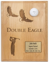 Double Eagle 9x12 Laser Etched Plaque