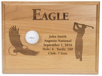 Eagle 12x9 Laser Etched Plaque